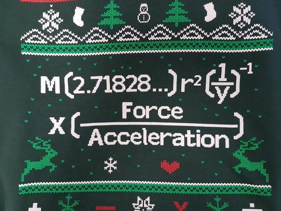 Matt's Maths Christmas Jumper Explained!