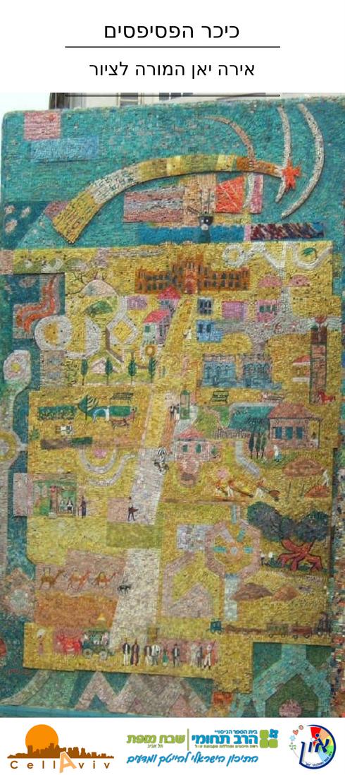 Cell Aviv כיכר הפסיפסים