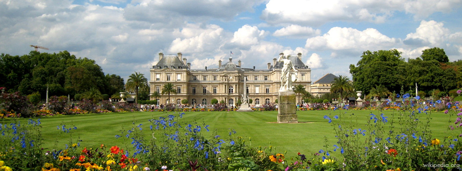 Le jardin du luxembourg thinglink for Buvette des marionnettes du jardin du luxembourg