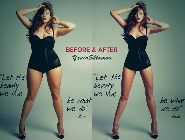 Slimmer face , thinned out waste , skinnier legs, chest s ...