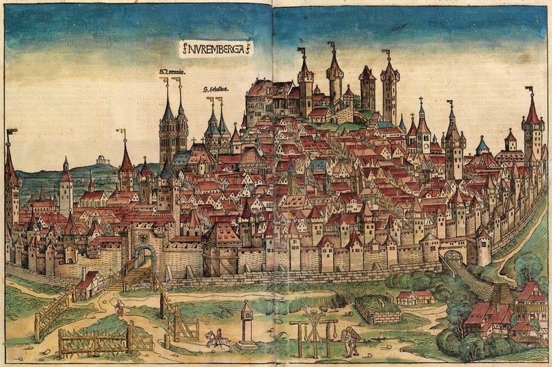 Keskiaikainen Kaupunki