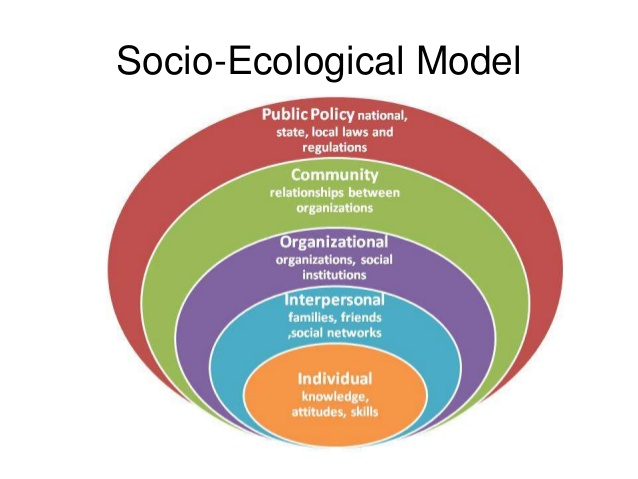 Ecological Model Rap Health Behavior Theory Socio Ecolo