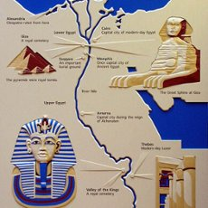 Monuments Of Ancient Egypt The Great Pyramid Great Sphinx - Map of egypt pyramids and sphinx