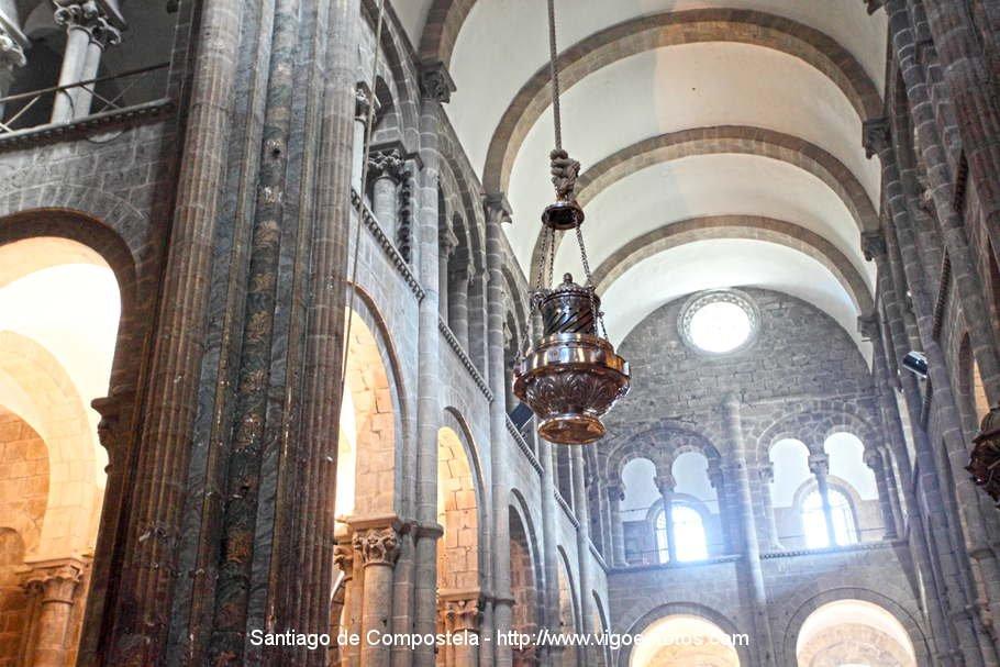 Interior da catedral de santiago de compostela thinglink - Interior santiago de compostela ...