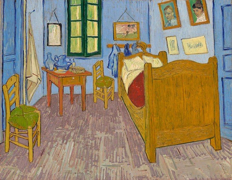 Resultado de imagen de la chambre de van gogh