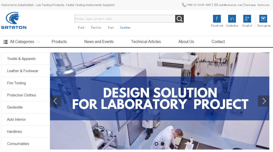 SatatonMall | Lab Testing Products, Textile Testing Instrume