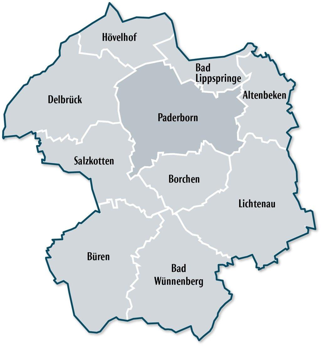 Karte Paderborn.Veranstaltungstipps Für Den Kreis Paderborn Nw De