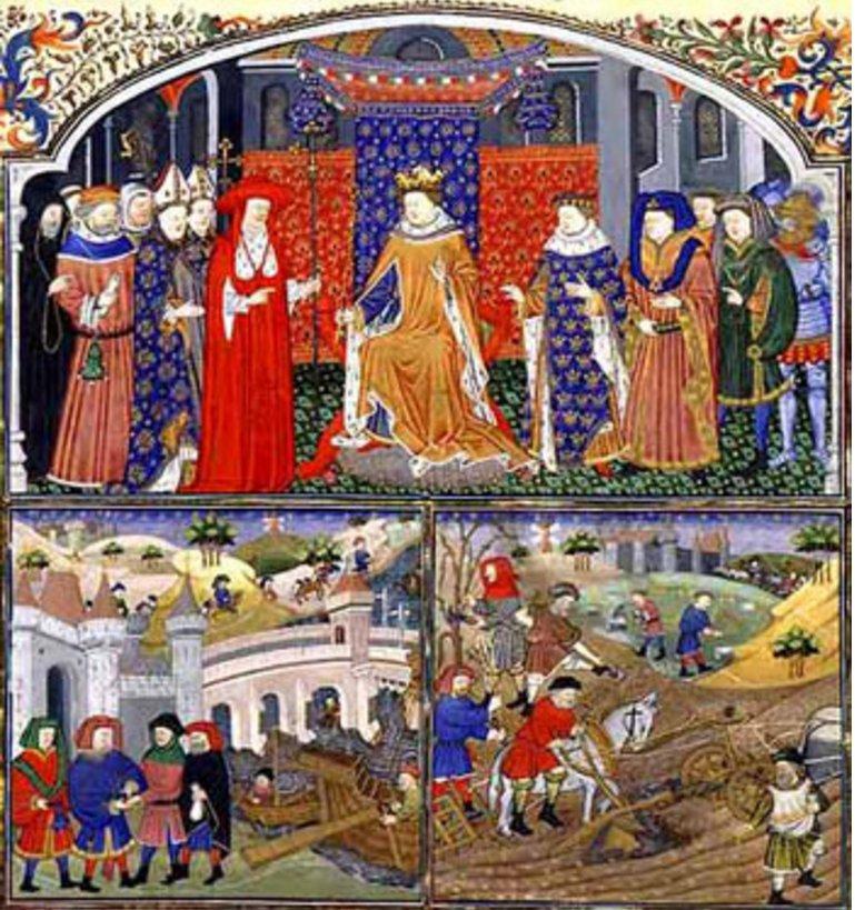 King Amp Royalty Nobles Peasants Or Serfs Thinglink