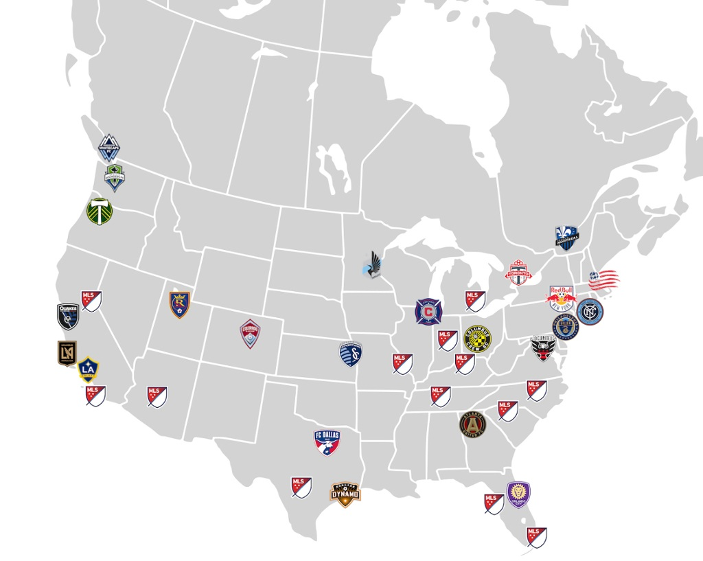 Mls Expansion Map