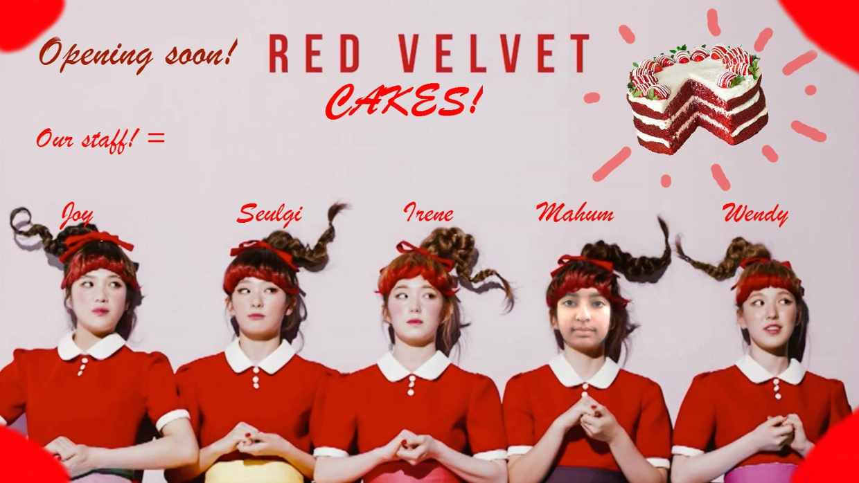Red Velvet Photoshop