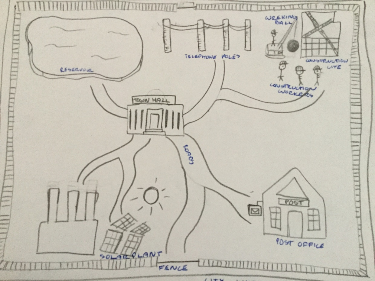 Plant Cell City Diagram Automotive Wiring Project Isabelle Jenkins Rh Thinglink Com Map Labeled