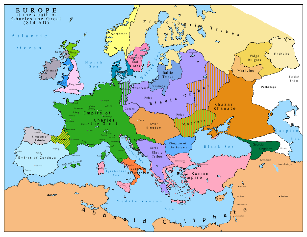 The Development Of Feudalism In Western Europe ThingLink - Western europe