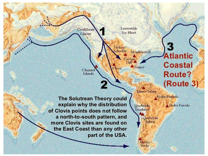 The Coatal Thoery Is The Most Likely Thoery That Happened - Usa width coast to coast