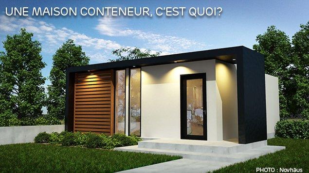 Une maison conteneur c est quoi thinglink for Contenaire maison
