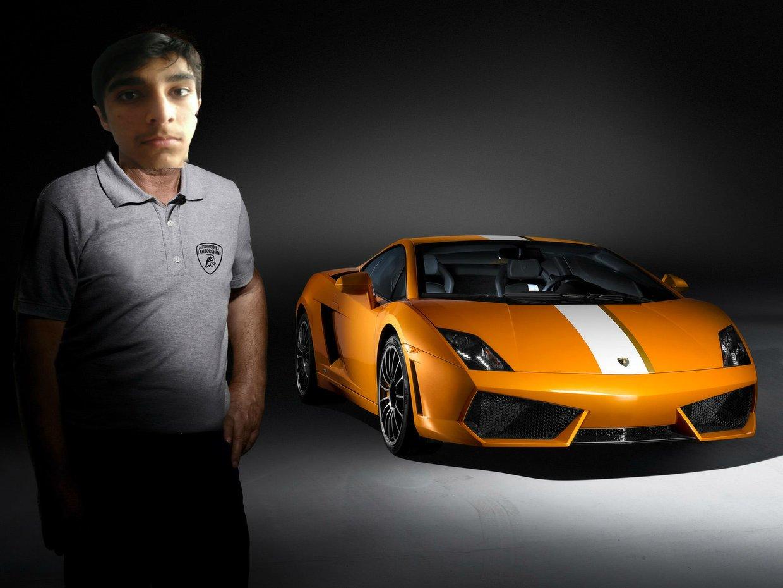 Lamborghini Photoshop