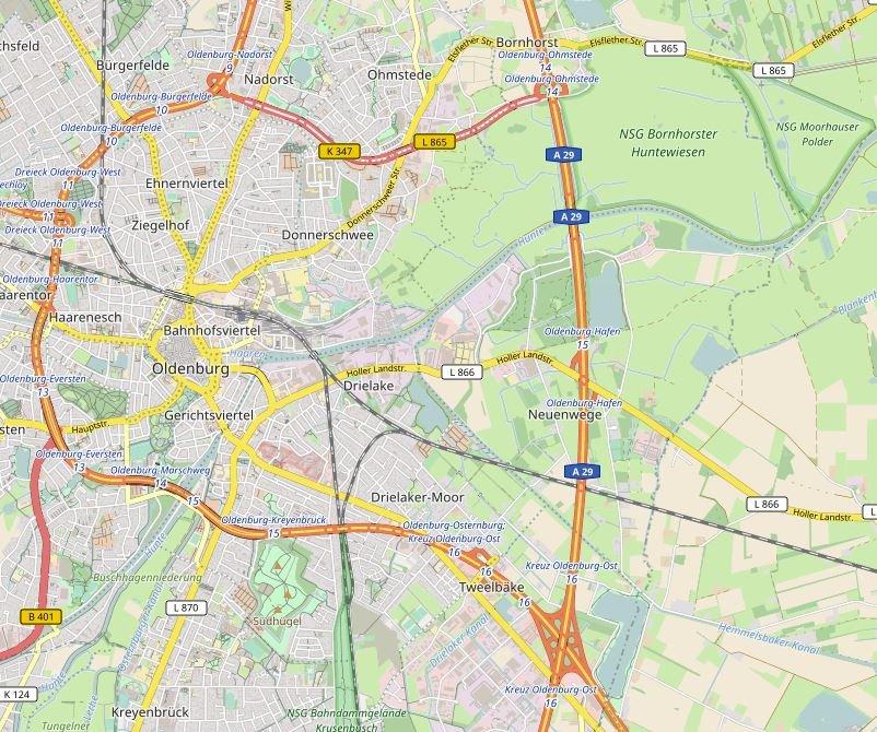 Sperrungen Autobahn