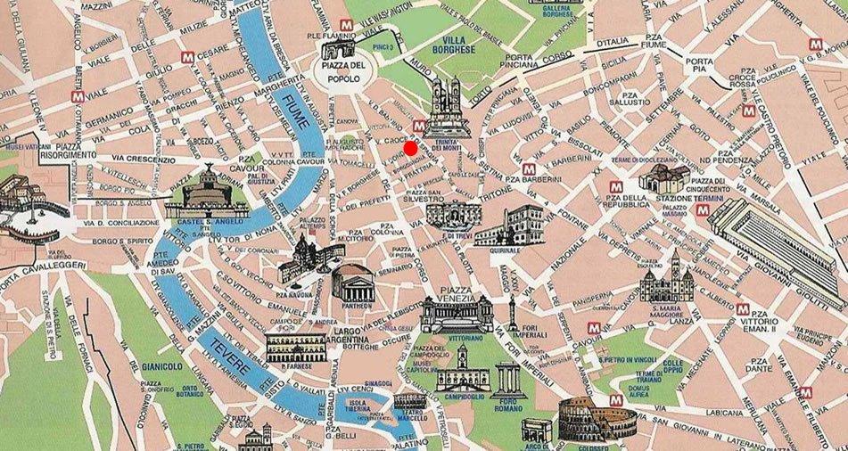 Roma Cartina Centro Storico.Remix Of Mappa Roma