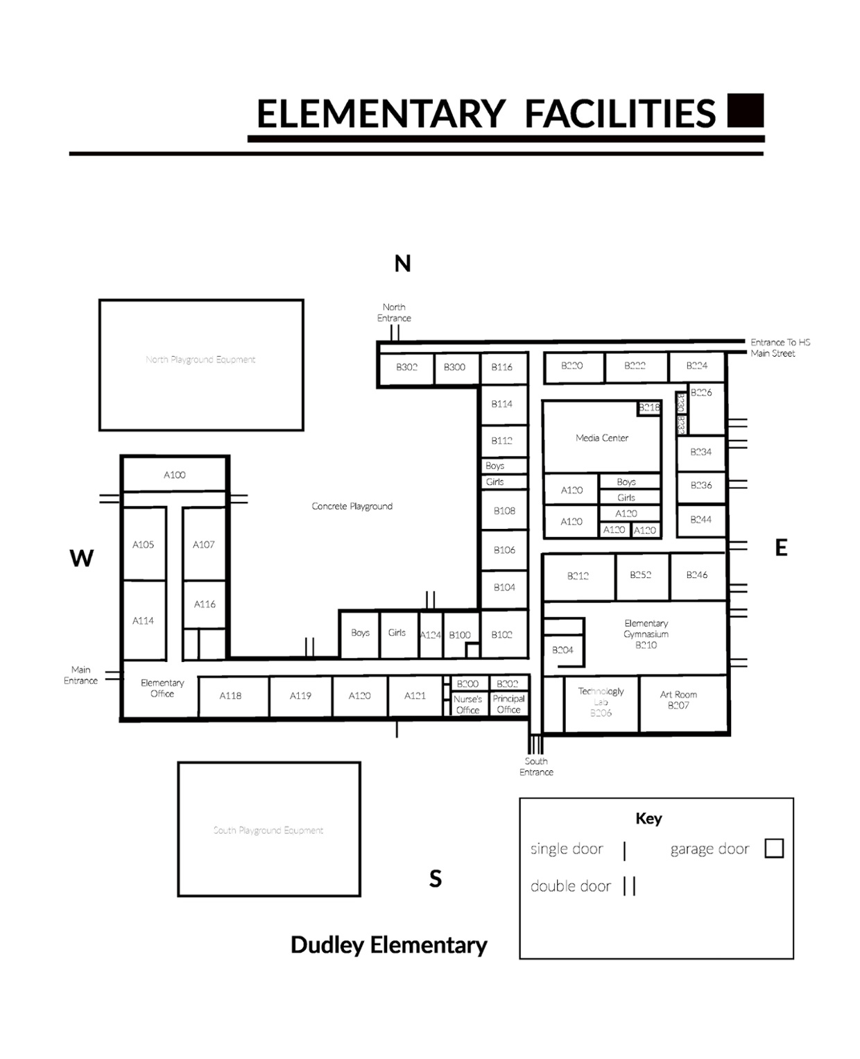 Dudley Elementary Interactive Map