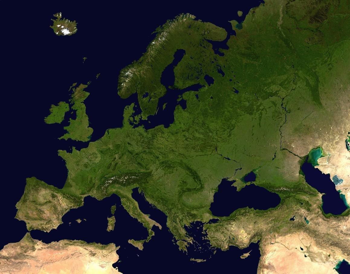 Cartina Politica Muta Dell Europa.Remix Of Carta Europa Fisica Muta