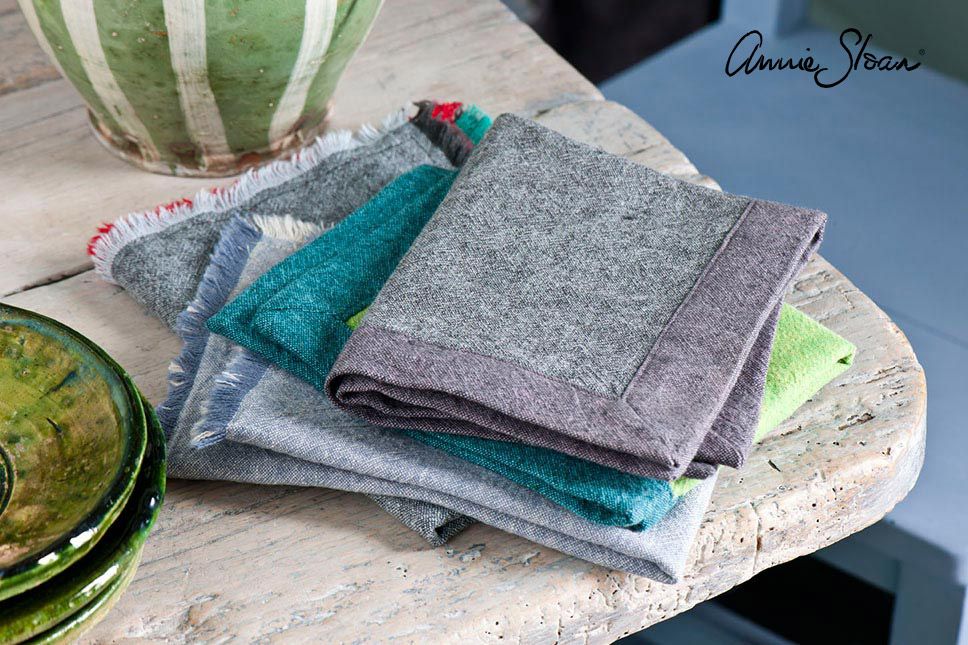 Annie Sloan Coloured Linen Napkins