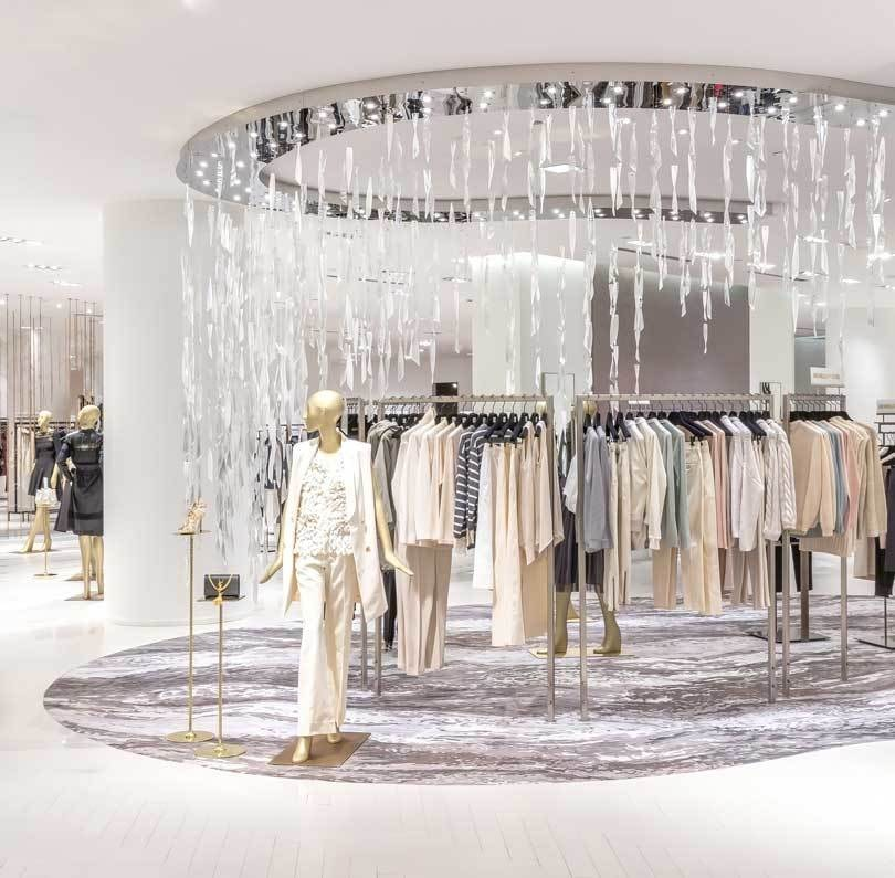 The secret of the award winning Saks Fifth Toronto Avenue retail concept