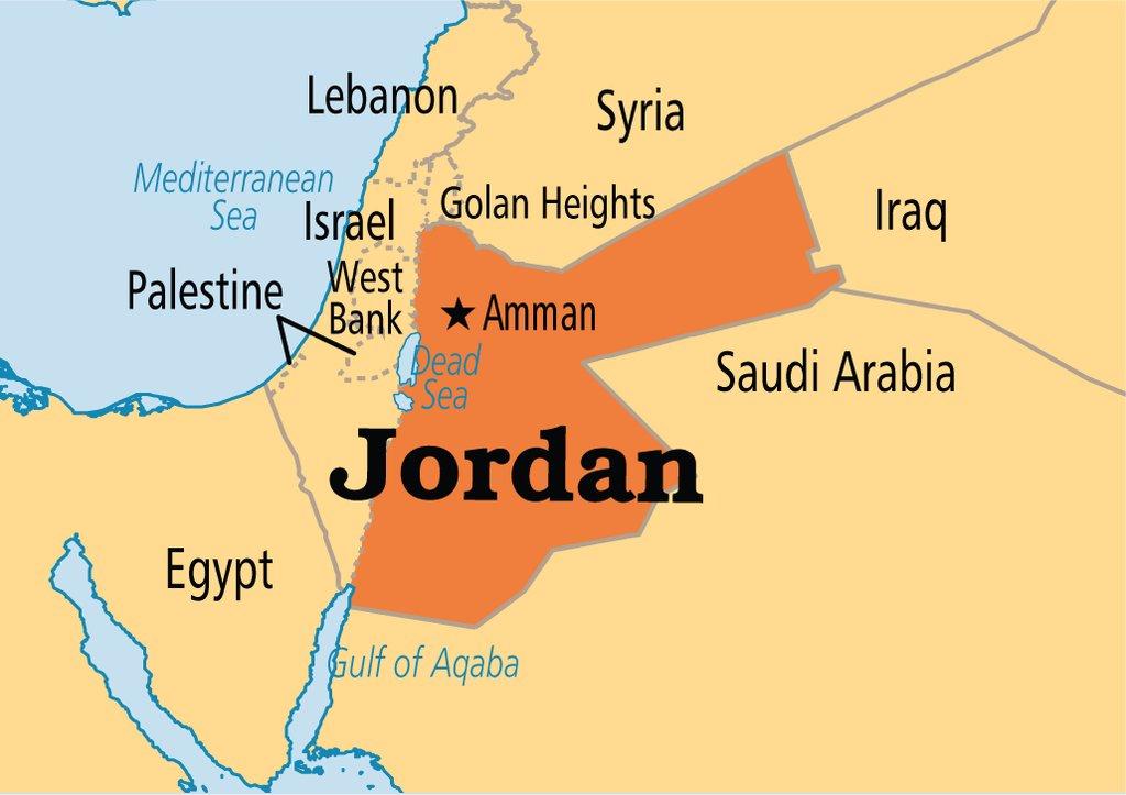 Jordan Map Map Of Jordan Jordan Map In English: Jordan Map Of Logic