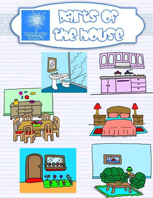 Bedroom, Bathroom, Bedroom, Kitchen, Living Room, Basemen...   ThingLink Part 65