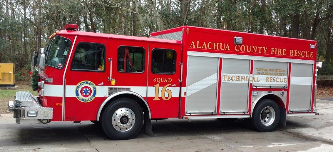 Alachua County Fire Rescue Squad 16
