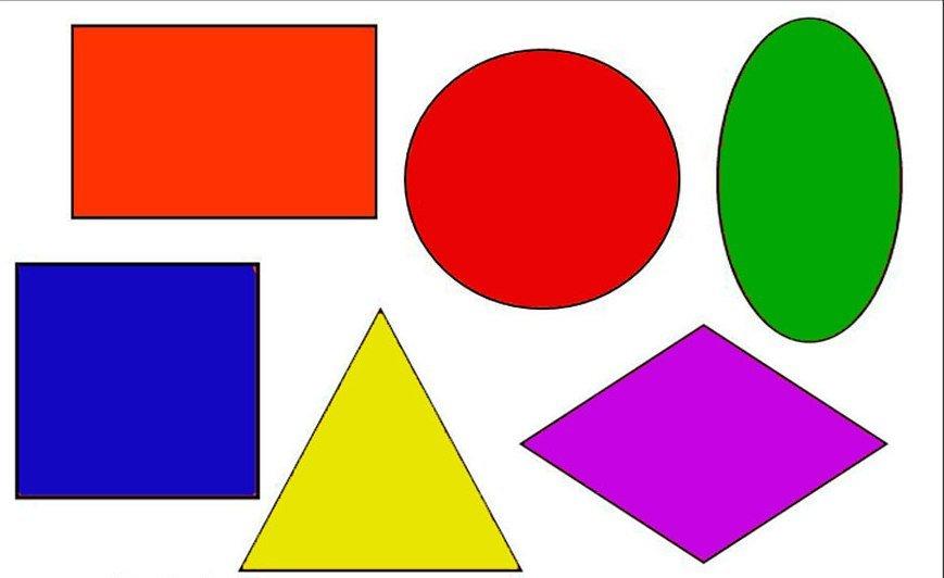 Геометричні фігури для 1 класу