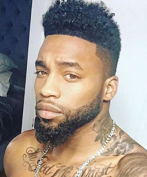 Remix Of Black Men Hairstyles And Beard Styles
