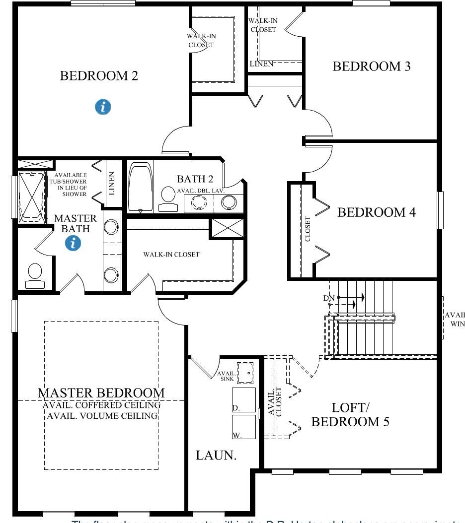 Interactive Floorplan Tour The New D R Horton Model Springbank Of Plainfield