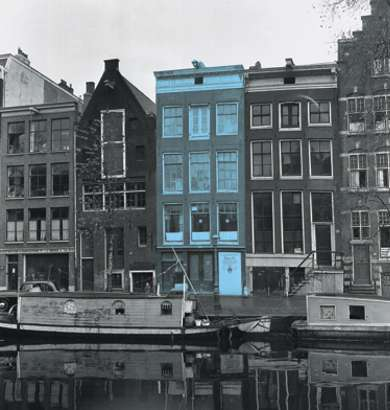 Anne frank the diary of a young girl thinglink for Alloggio a amsterdam