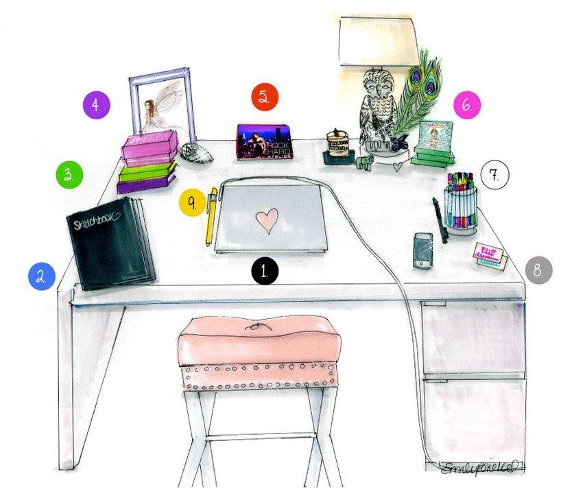 as debes organizar tu escritorio seg n el feng shui decohunter. Black Bedroom Furniture Sets. Home Design Ideas