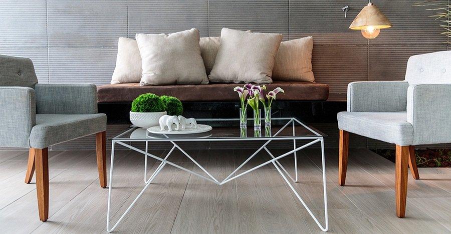 Con este estilo tu casa siempre se ver moderna decohunter for Deco living comedor pequeno