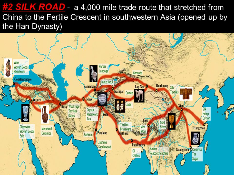 Silk Road The Silk Road was a network of trade routes, fo