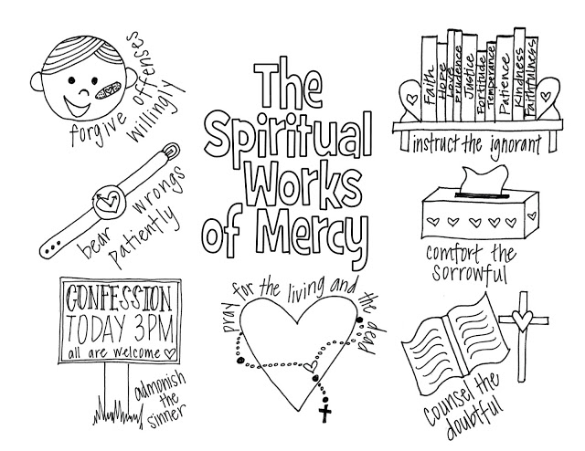 Spiritual Works Of Mercy Thinglink