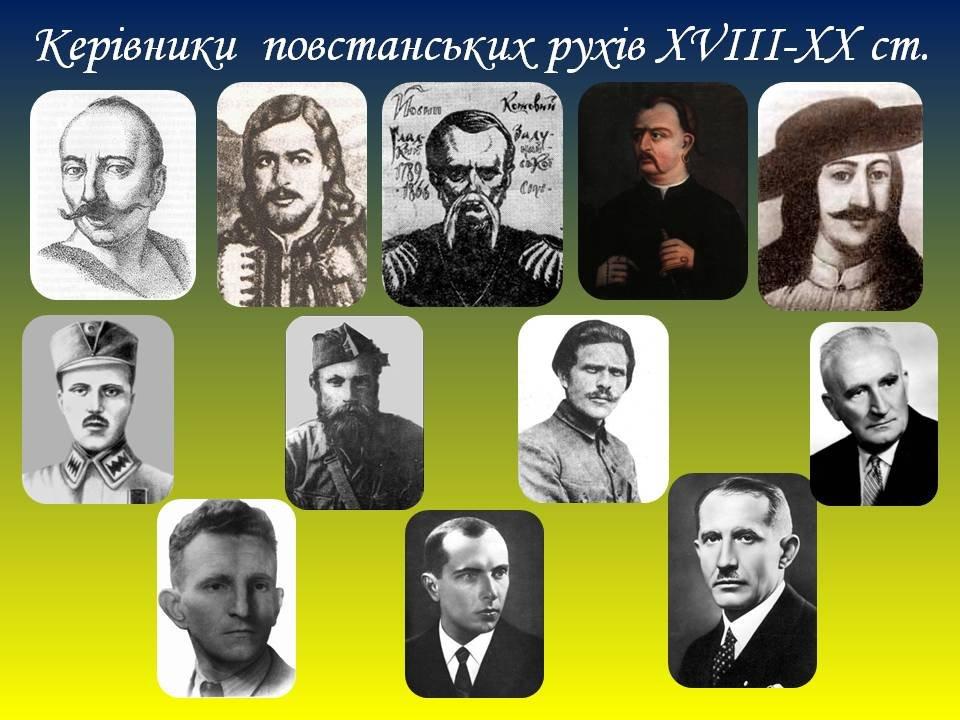 Керівники повстанських рухів