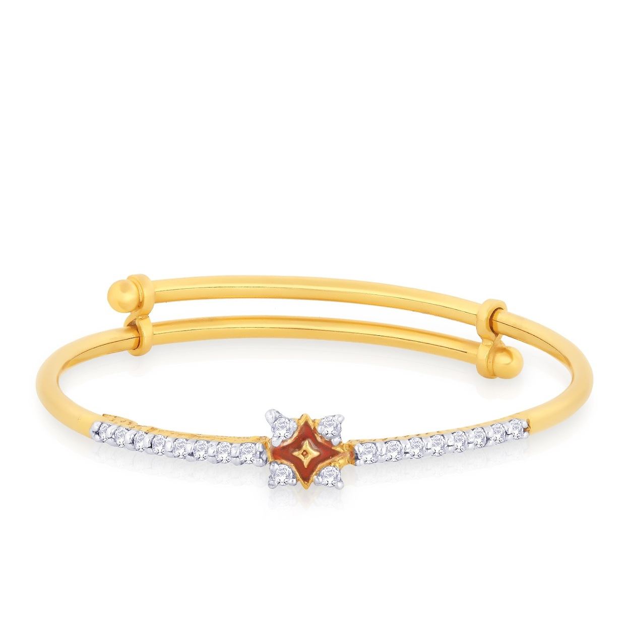 Gold Bracelet for Girl/ Woman at Antiquariat Jaipur - ThingLink