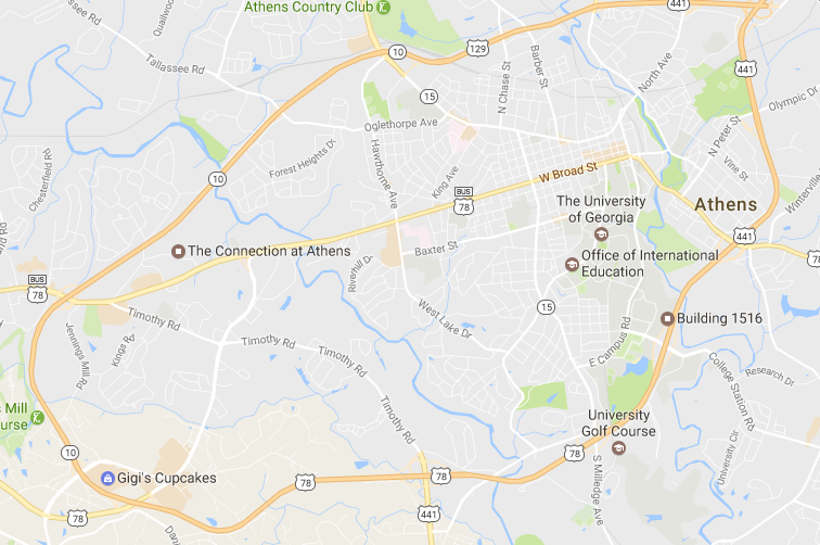 A Literary Map of Athens
