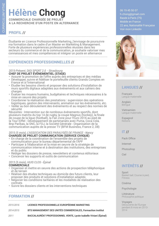 Quel est le CV idéal pour un stage ? - Le Figaro Etudiant