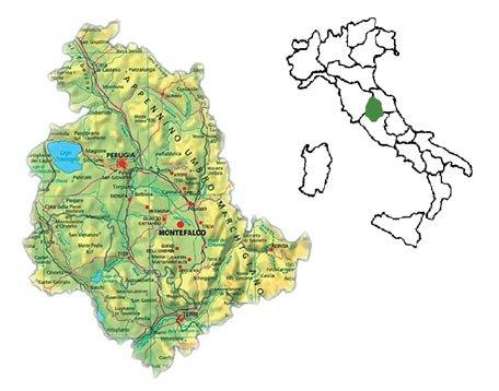 L' Umbria è