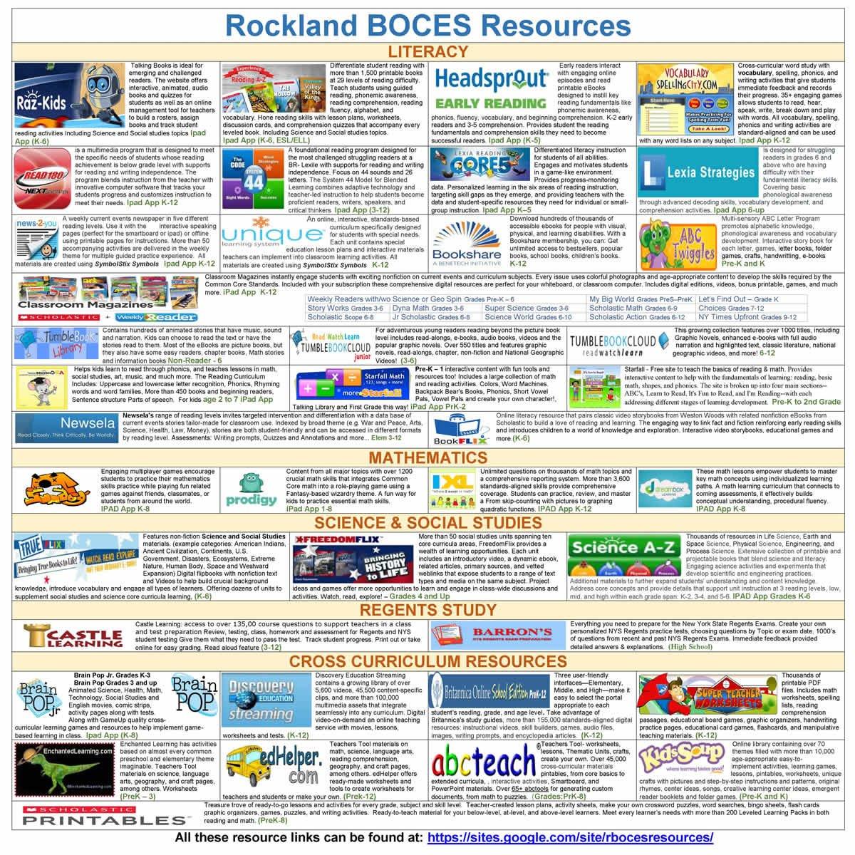 rockland boces calendar