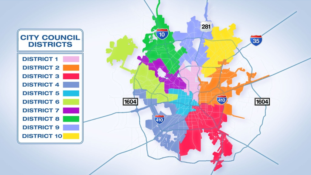 Find your city council district; See who's running in each... San Antonio District Map on austin 10-1 map, fresno district map, amarillo district map, south san francisco district map, new braunfels district map, fargo district map, charlotte district map, south bend district map, mesa district map, city district map, brazoria county district map, north miami district map, denton county district map, northern virginia district map, duluth district map, new england district map, rio rancho district map, anaheim district map, key west district map, saint paul district map,