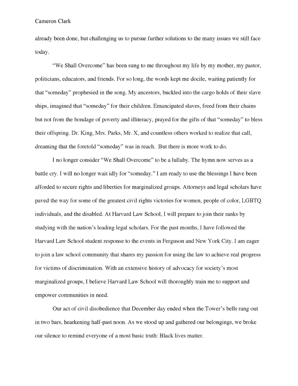 High School Essays  Health And Wellness Essay also Student Life Essay In English  Law School Personal Statements That Succeeded  Top Law  Essay Writing Topics For High School Students
