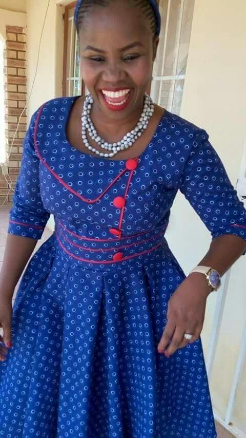 Shweshwe Traditional Clothes 2017