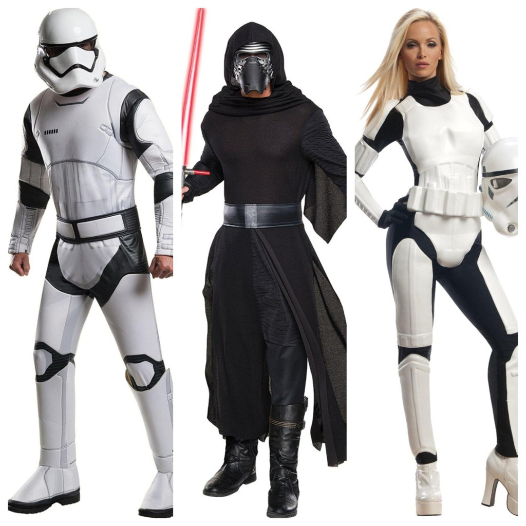 Star Wars villains costumes