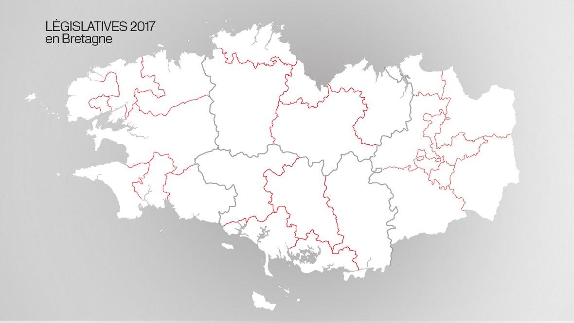 Législatives 2017 en Bretagne