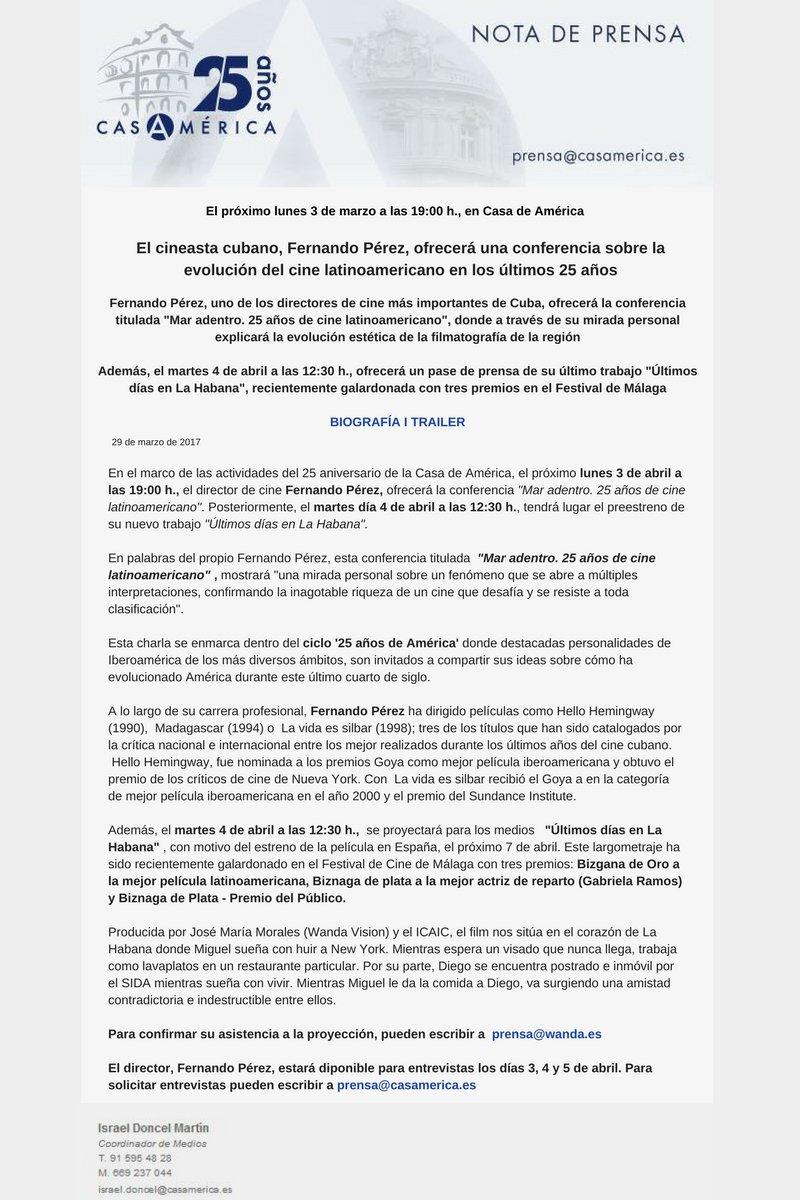 EJEMPLO DE NOTA DE PRENSA