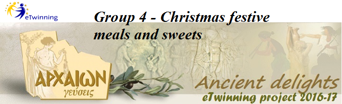 Group 4 ‐ Christmas festive meals and sweets