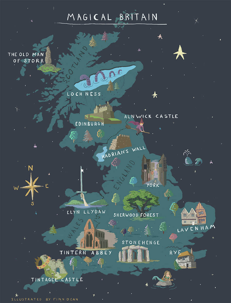 Harry Potter Map Of England.Explore Magical Britain Visitbritain
